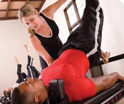 asistencia tactil pilates